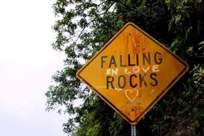 falling rocks