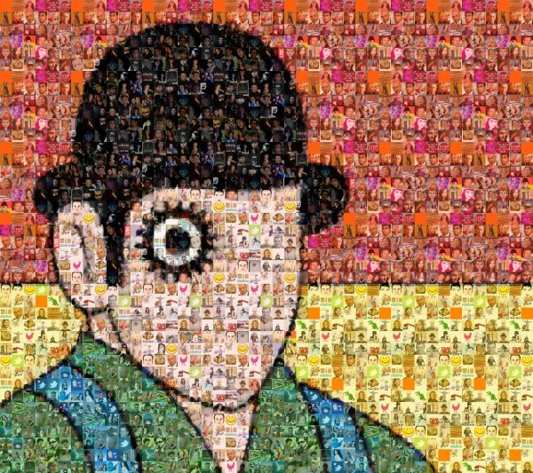 my twitter avatar made up of all my followers' avatars. COOL!