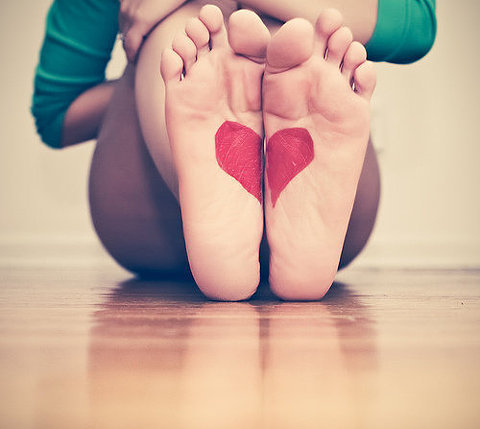 put my heart (and sole) into this monday!