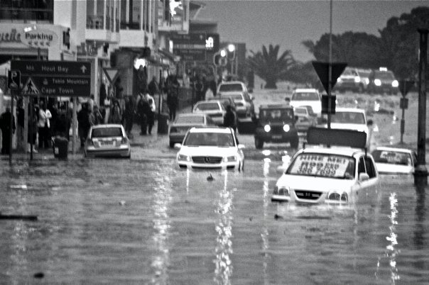 Camps bay floods. Property prices at all time low… Buy now!!!