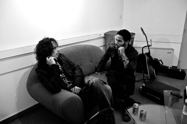 Oops!! Forgot the pic of chris & Lenny: