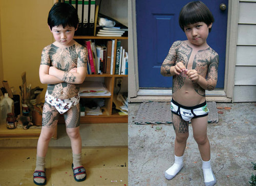 Yakuza kids are hardcore!