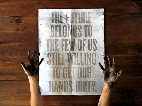 are YOUR hands dirty ?