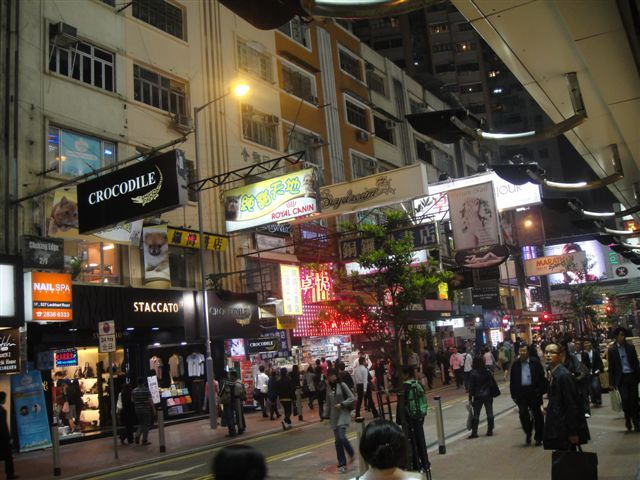 Drunk in Hong Kong
