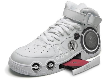 Thinks these new HI TOPS are much hotter than your little ipod shuffle!