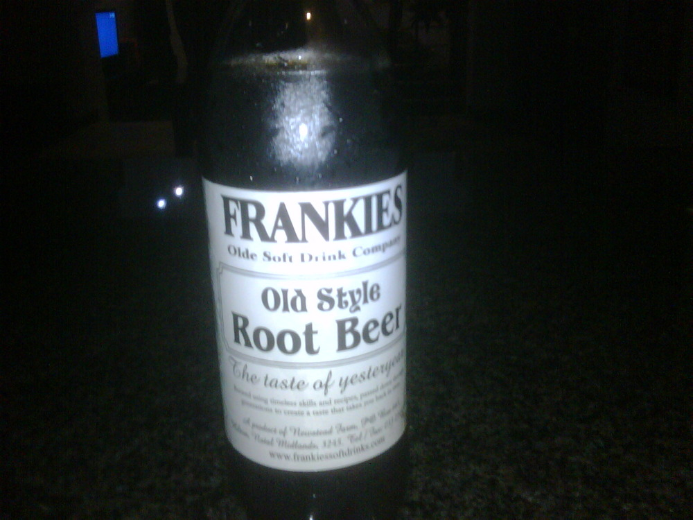 Loving Frankies old style root beer! Welcome to my life