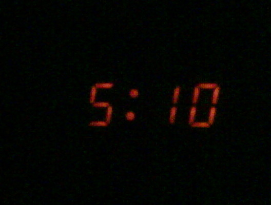 Wide awake and has been for some time! 5:10 am…