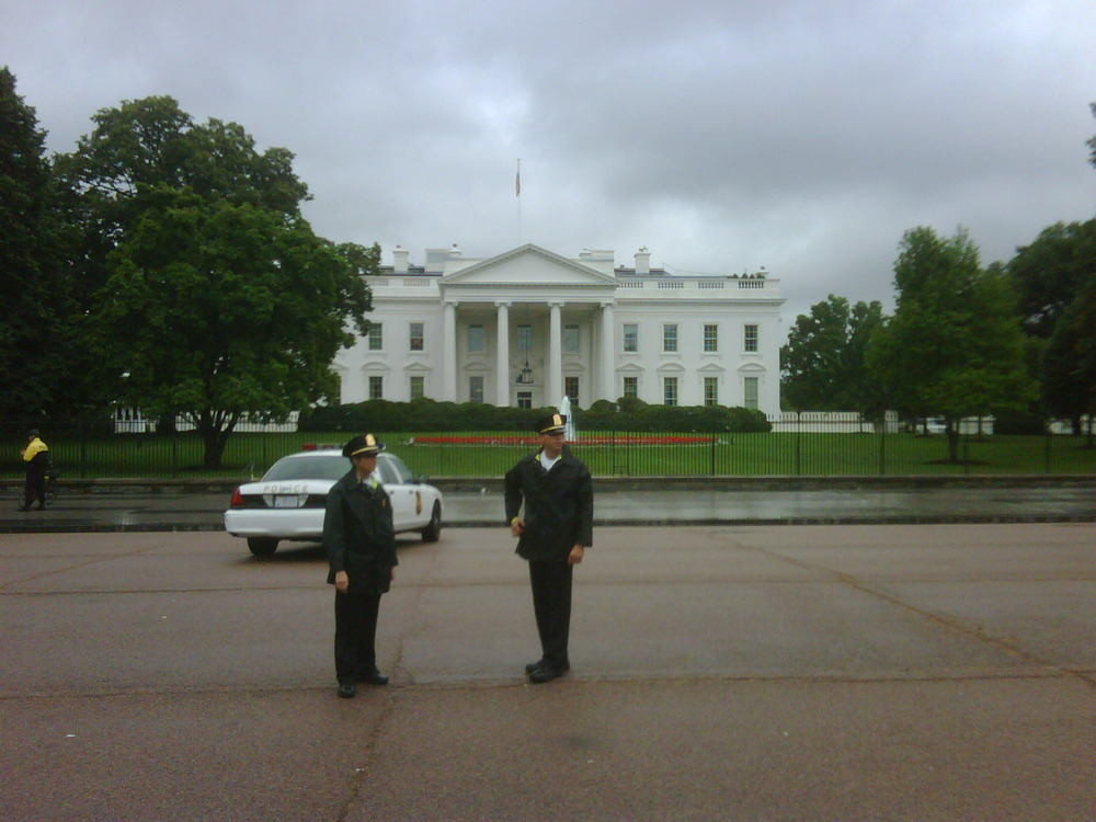 """Drama at the whitehouse!"""