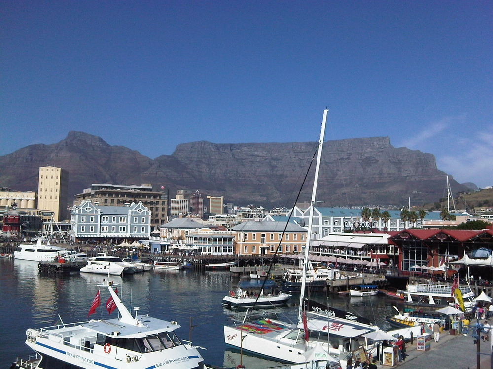 Today in CAPE TOWN. Tourists are gonna love this city! #WC2010