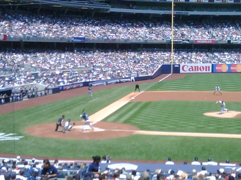 Batter batter batter UP! Go Yankees!