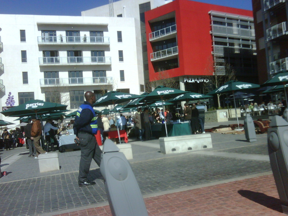 The new Med organic market in melrose arch Sq. Who knew!?