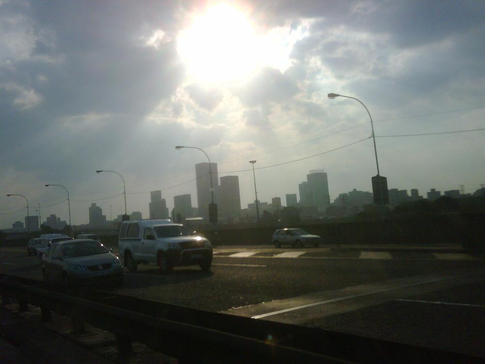 Biblical skies of Jozi city!