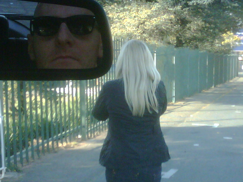 Just when You think You safe, the mirror stalker is out there!!
