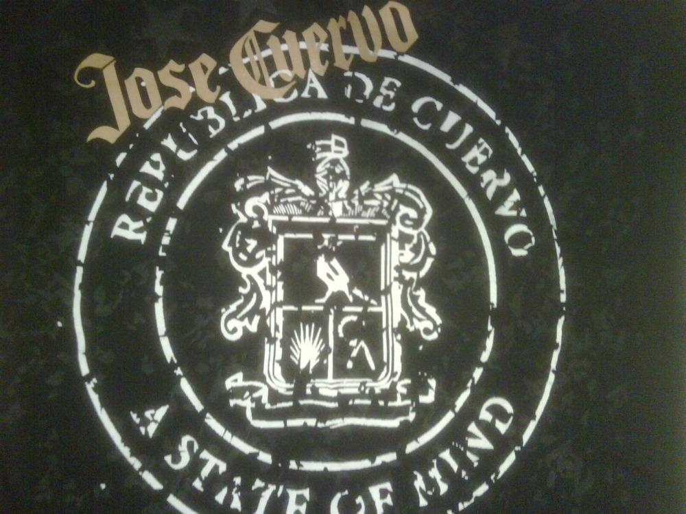 Scored a Jose Cuervo T-shirt from the chinese shooter- girl! Viva roger viva!
