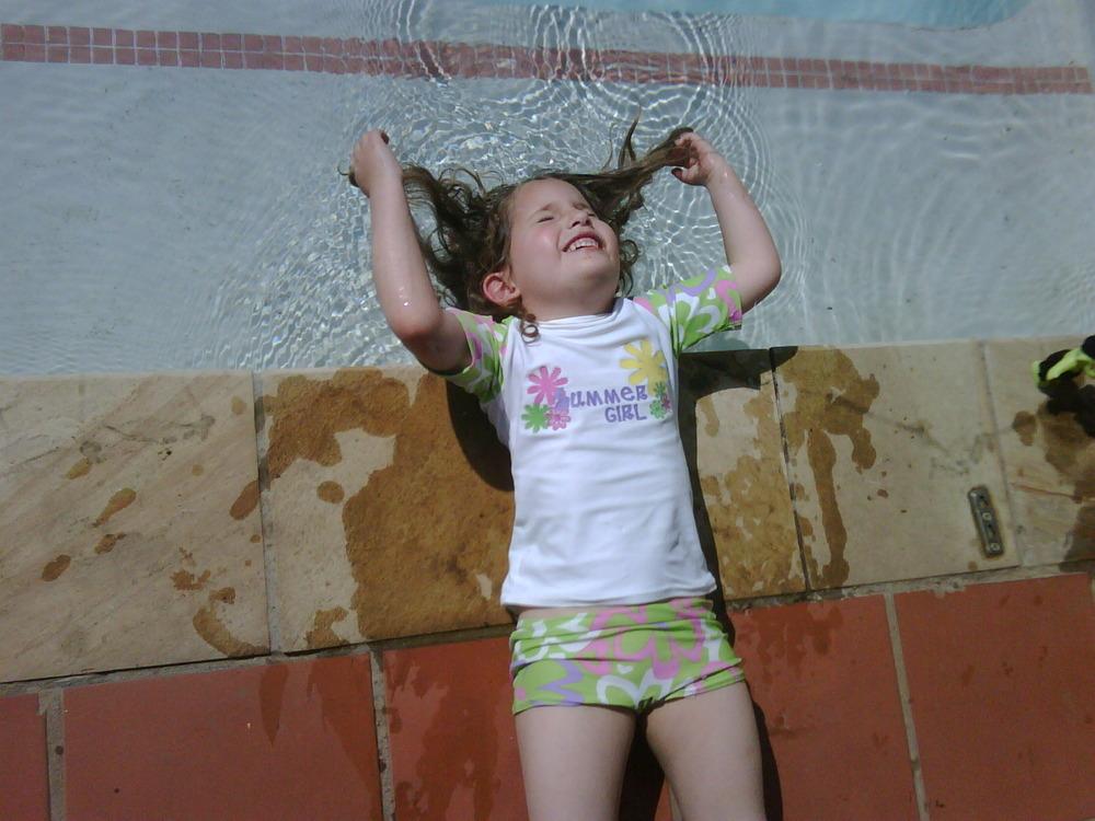I wish, I wish, I wish I was 6 again… Happy summer days!