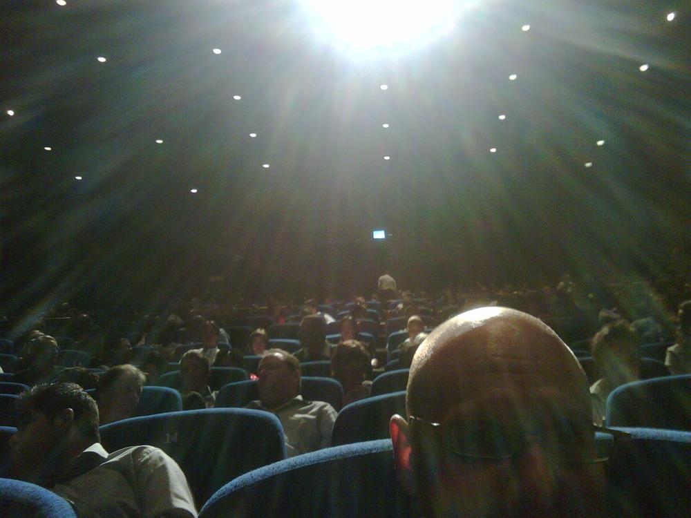 Front row @ sales guru event!