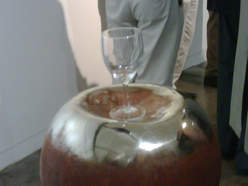 Culture is NOT putting your wine glass on the art – You dildo.