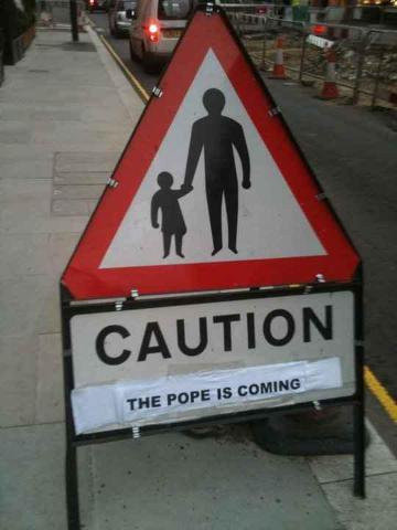 Little kids are scared of the pope. You should be too.