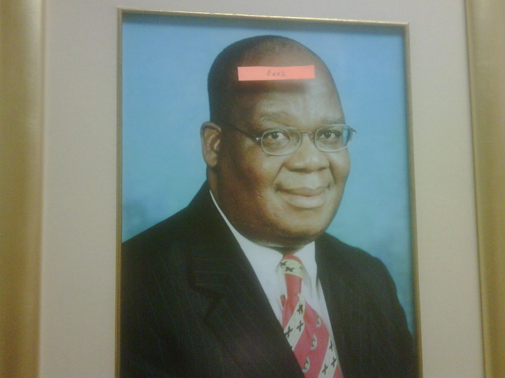 This is Amos Masondo and this is what I think of him.