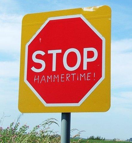 STOP!! Hammertime!
