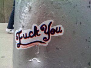 Fuck-you-sticker