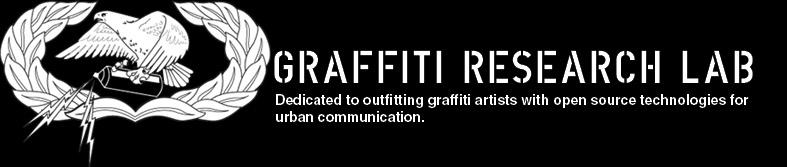 Likey likey this company http://graffitiresearchlab.com   :