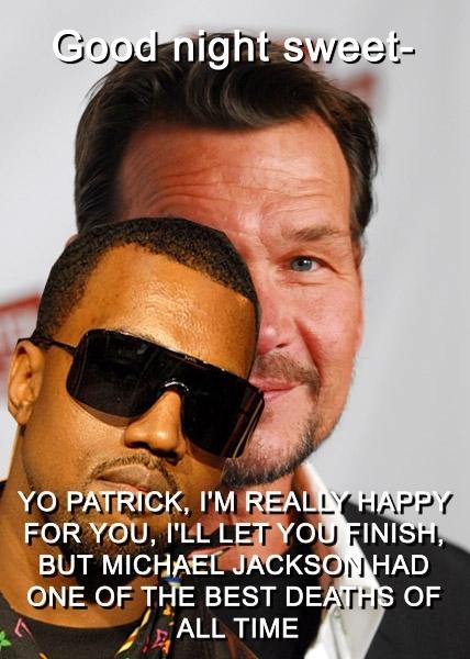poor old Patrick. (and so it begins…)