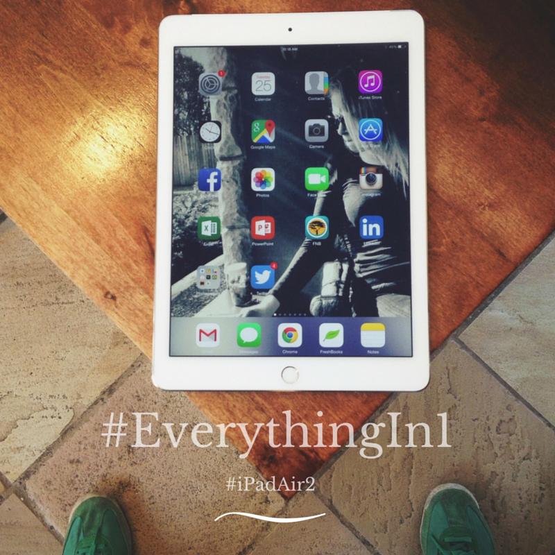 #iPadAir2 Spillly