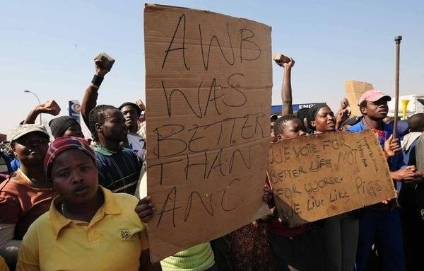 AWB was better than ANC is!