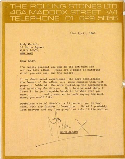 i wish i had clients like this. Mick Jagger ROCKS!