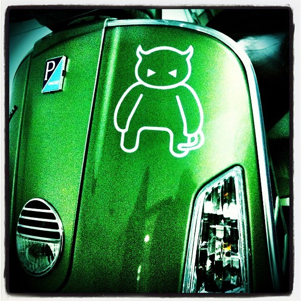 The green devil.