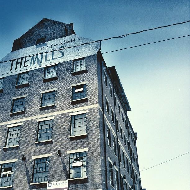 The Mills. #newtown #joburg #ilovejozi #building #architecture #mills #city