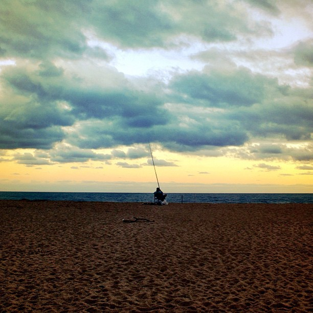 The #fisherman No2 #beach #sea #fish