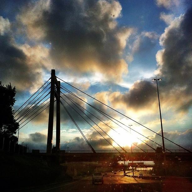 West bound. #joburg #love #sunset