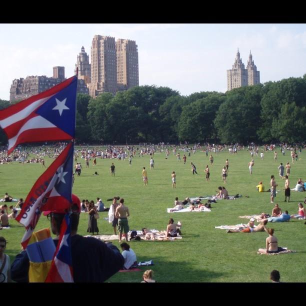 I heart #NYC in the summer. #centralPark