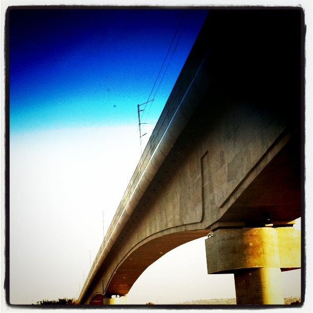Under the bridge is how I troll. #Gautrain #detail