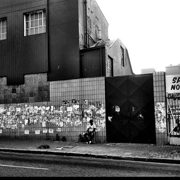 No job. No bills. No hope. #Germiston #blacknwhite