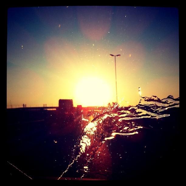 Cooling the African sunset. #Joburg #sunset #Traffic