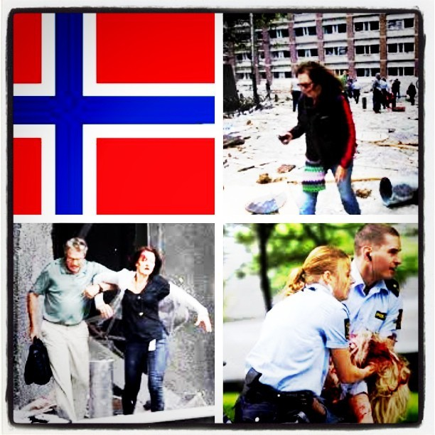 87 confirmed dead between bombing and shooting. In a place renowned for it's modern day peace. Where did we go wrong? #Oslo #Bombings
