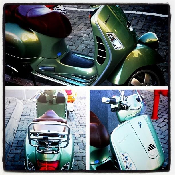 My new toy. Loving it! #vespa