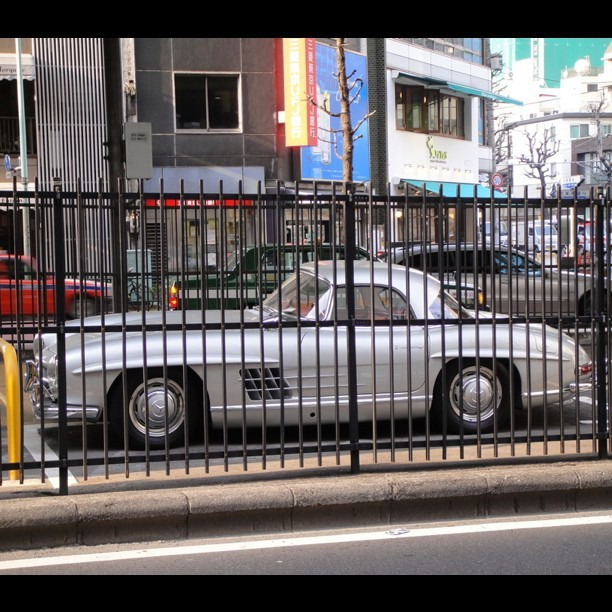 Such a beast needs to be caged. 1952 300SL #Mercedes #Gullwing #tokyo