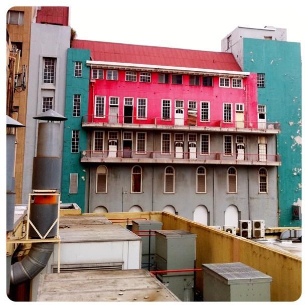 Even deep inside #joburg city there is colour and joy. #ilovejozi #architecture #city #joburg