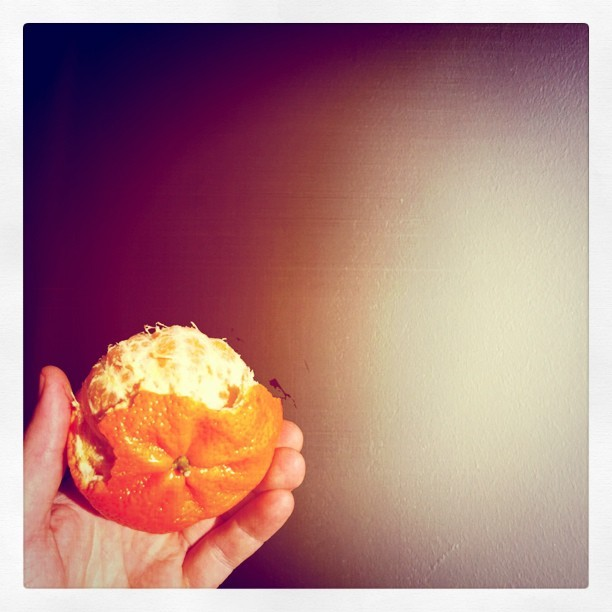Clementine. Happiness. #fruit #summer