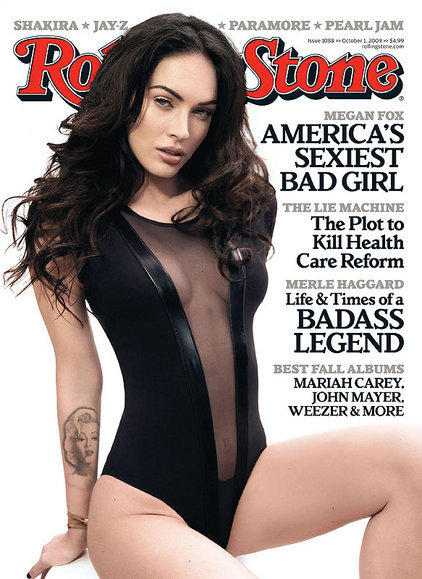 Is that a Pearl Jam interview on the cover on rolling stone?