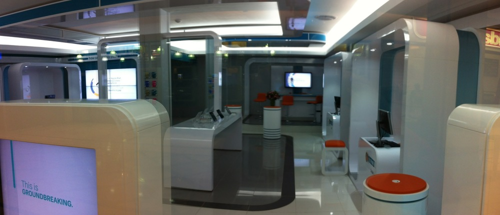 The new Dot FNB in hyde park is straight out of Buck Rogers.