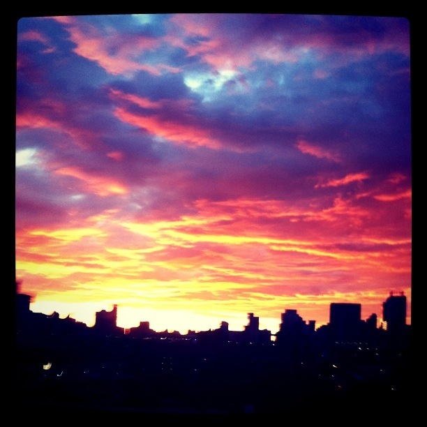This mornings sunrise pics over Jozi. (for the Facebook people)