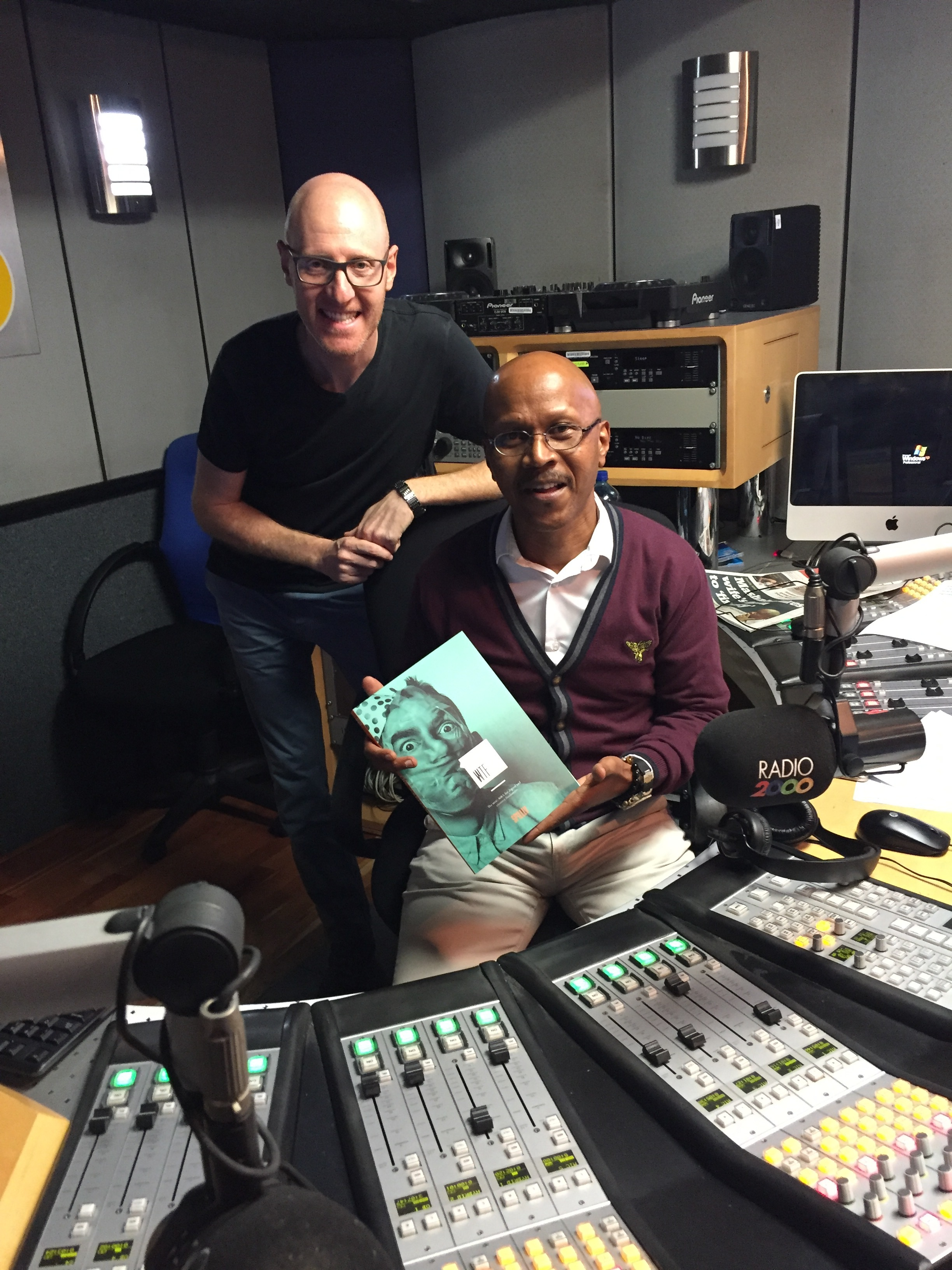 The pleasure of being on Radio 2000 with a fellow Freelancer