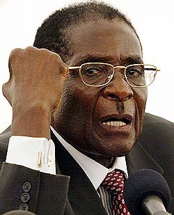 Wanting to know if anyone knows this man: robert mugabe, as I'm about to invest in Zim and I have a few concerns…