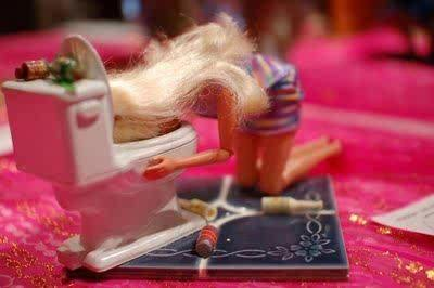 Barbie! Her secret is out!!
