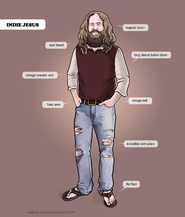 Indie jesus – just for @MAV3RIK